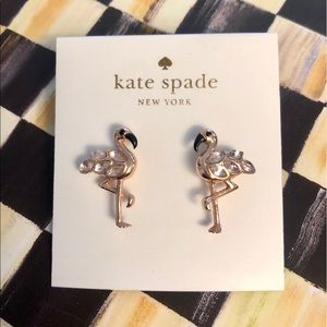 NWT Kate Spade Bird's the Word Stud Earrings
